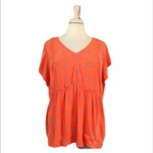 In Every Story Womens Flutter Sleeve Top